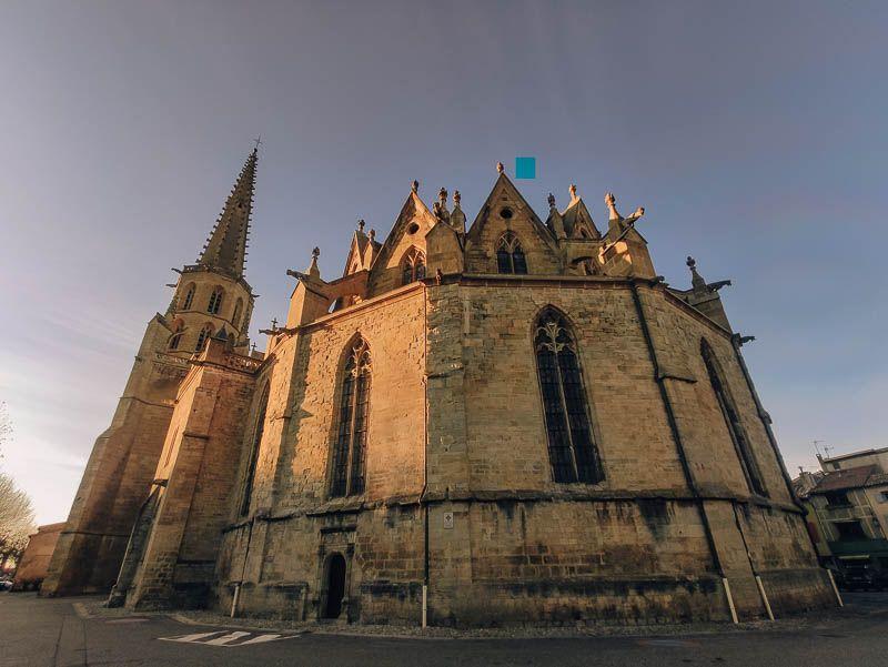catedral san mauricio mirepoix