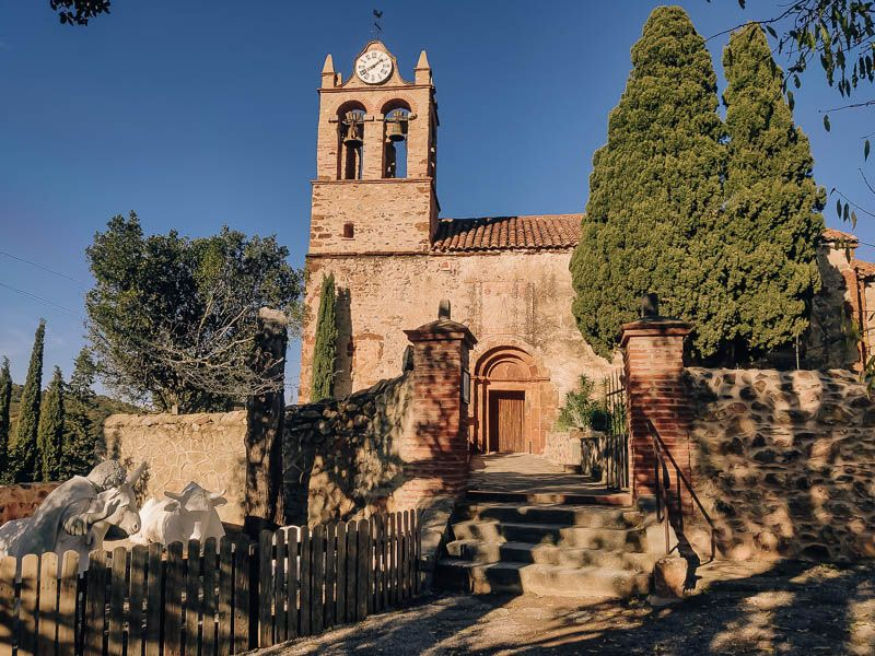 iglesia santa maria mercadal castelnou