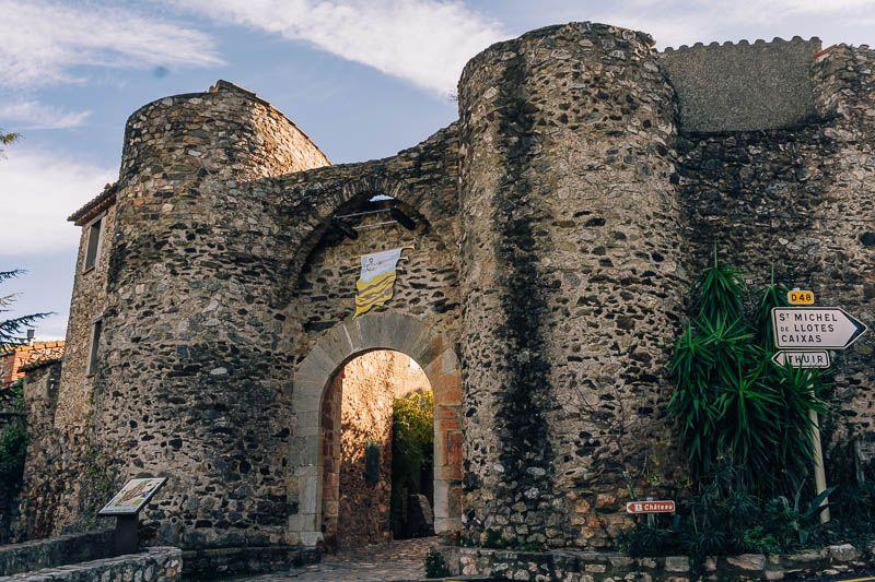 murallas castelnou