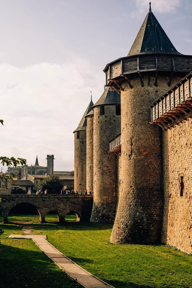 puente acceso castillo carcassonne