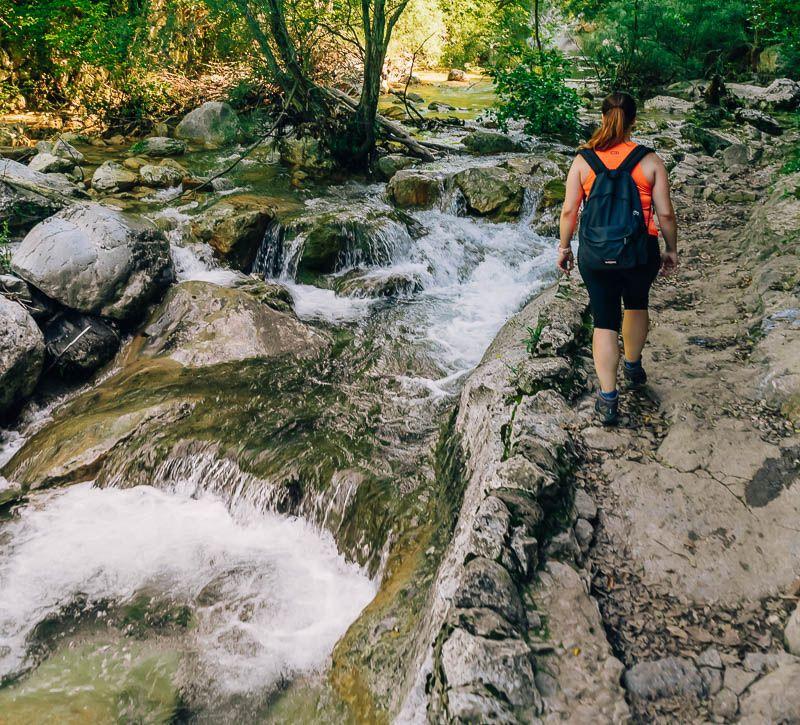 cascadas ruta sant aniol d'aguja