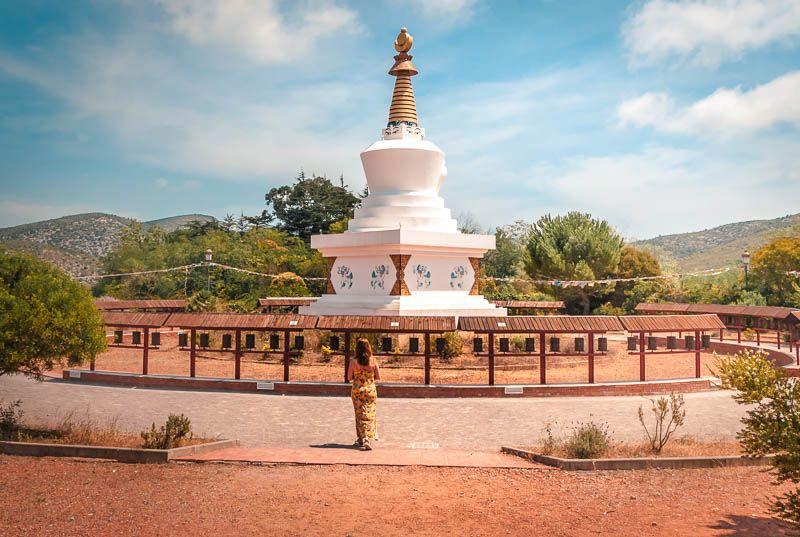 monasterio budista garraf - cosas que hacer provincia barcelona