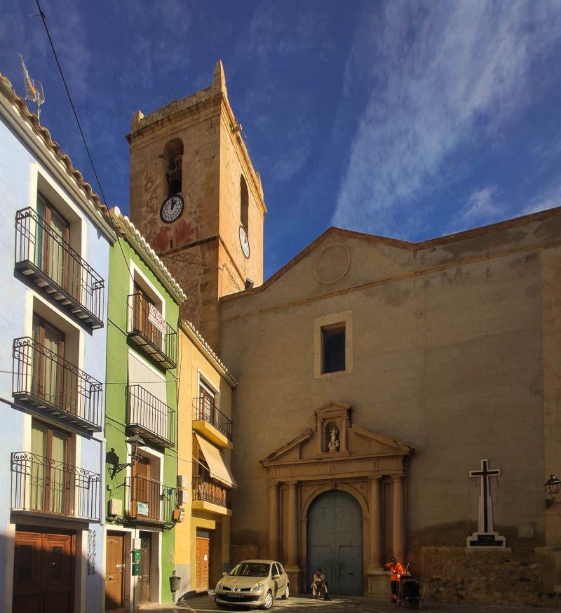Qué ver en Comunidad Valenciana iglesia Villajoyosa