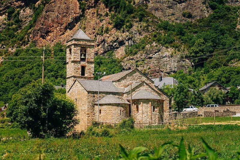 Sant Feliu de Barruera vall de boi