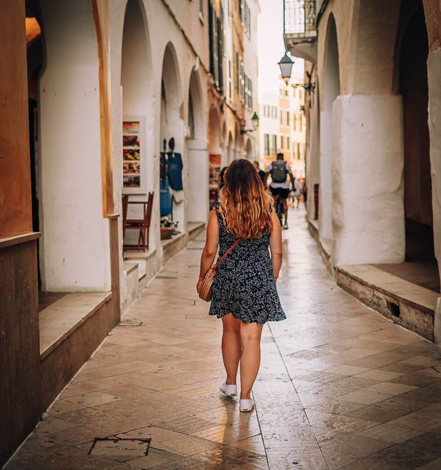 calles ciutadella Menorca pueblos y ciudades que visitar