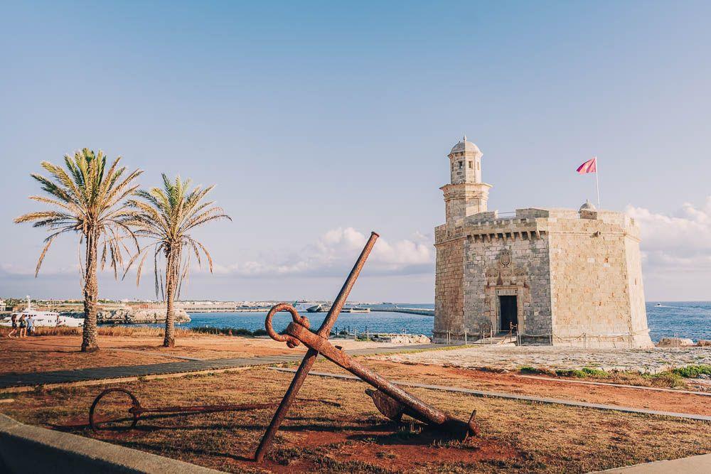 castillo san nicolas menorca