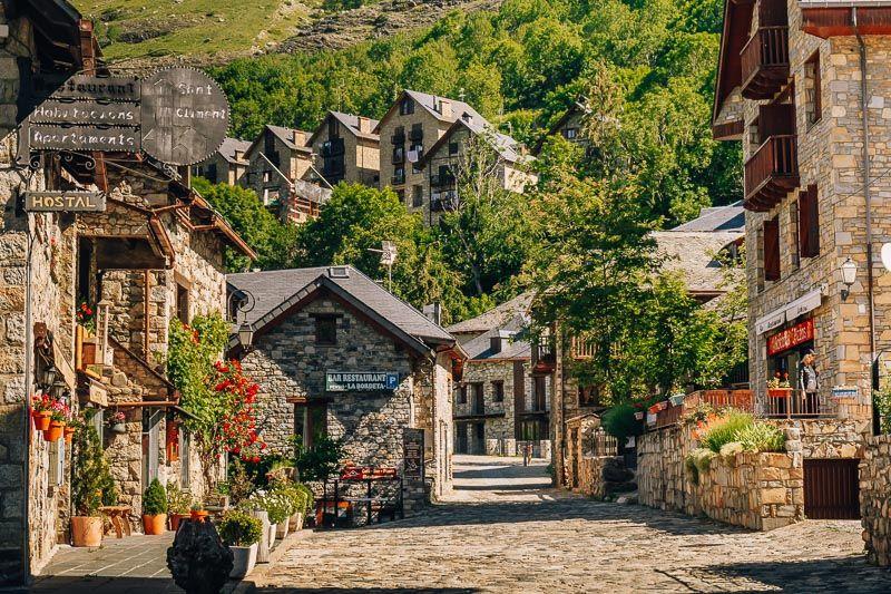 pueblo taull vall de boi