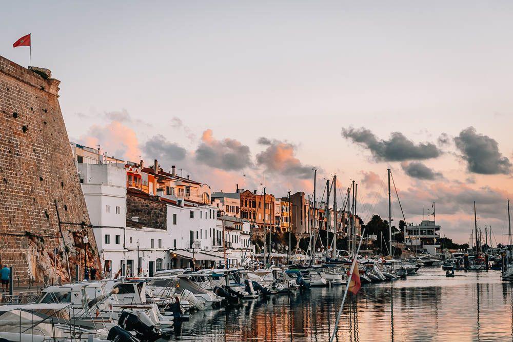 puerto ciutadella Menorca pueblos y ciudades que visitar