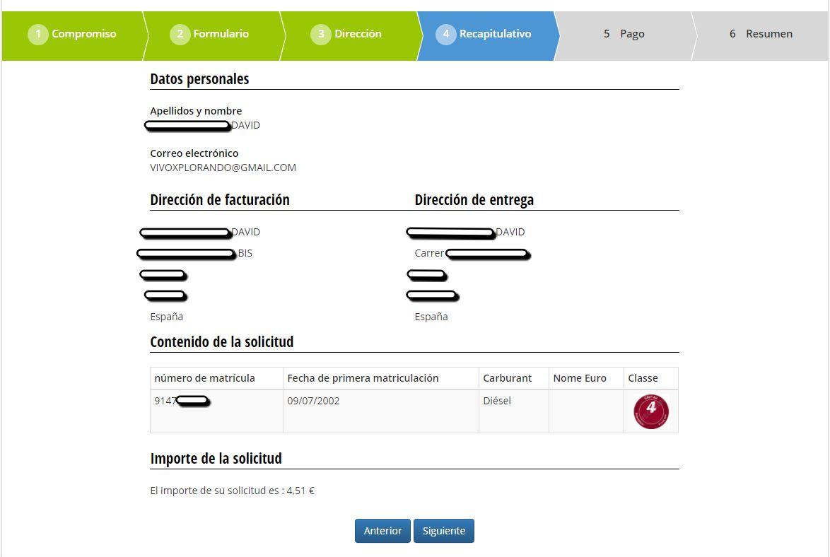 Crit'Air pegatina medioambiental para circular por Francia