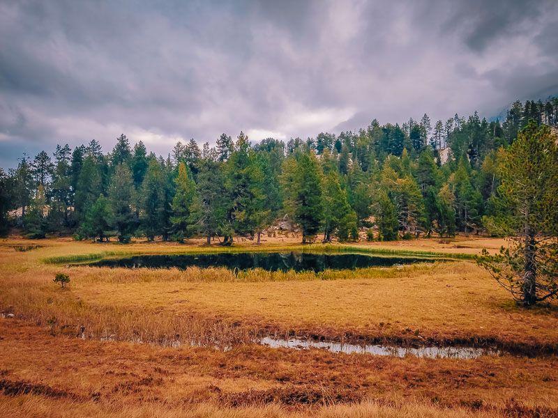 Estanh dera Lòssa lagos circ de colomers vall d'aran