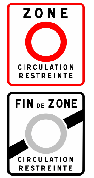 Crit'Air pegatina medioambiental Francia