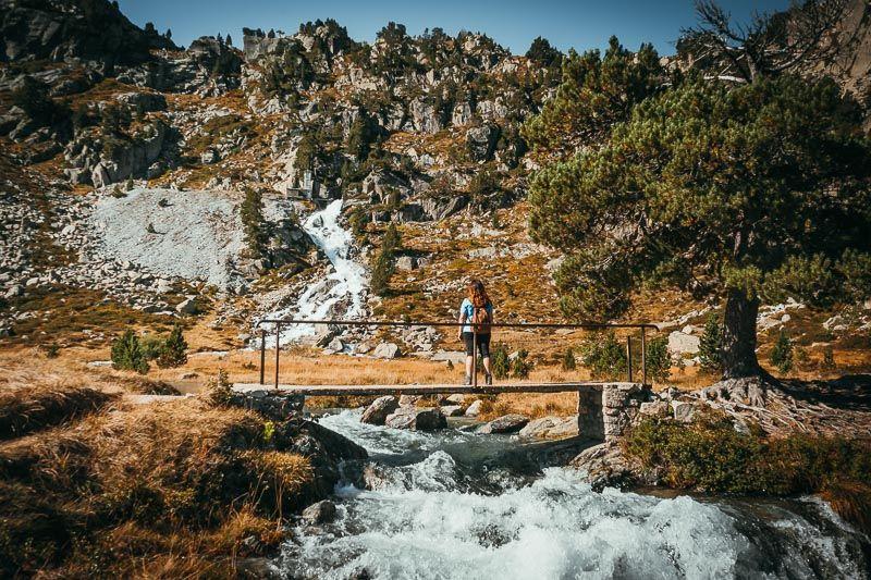 cascada lago de restanca