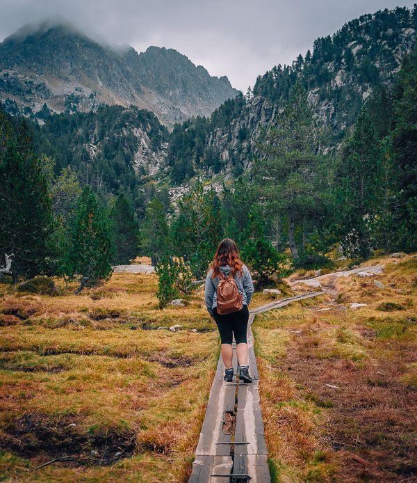 pasarela vall d'aran circ dels colomers