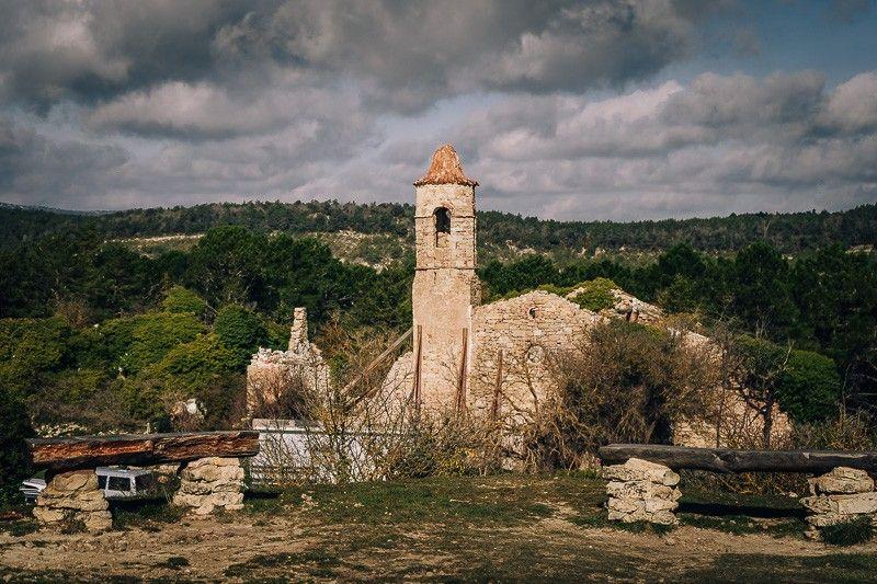 pueblo abandonado la mussara