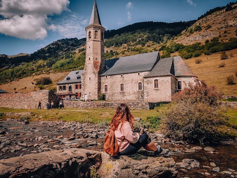 Qué ver en la Vall d'Aran - santuario montgarrí